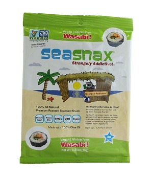 SeaSnax Wasabi Single